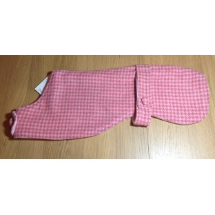 Pink Whippet Dog Coat