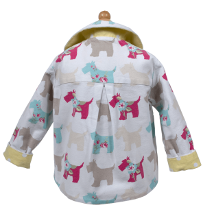 2-in-1 Dogs Cotton Jacket