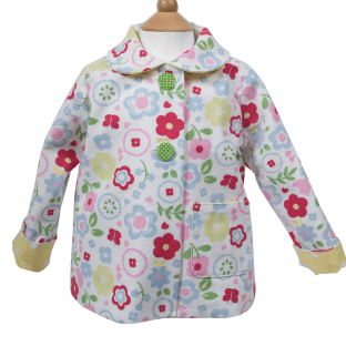 2-in-1 Floral Cotton Jacket